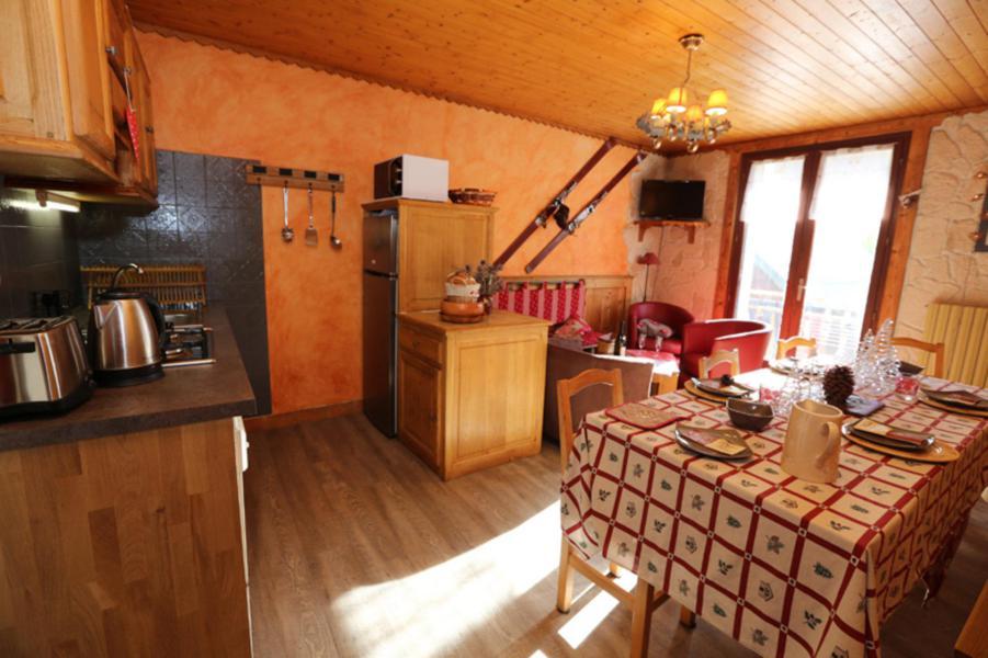 Wakacje w górach Apartament 4 pokojowy 8 osób (6E) - Résidence la Cordée - Valloire