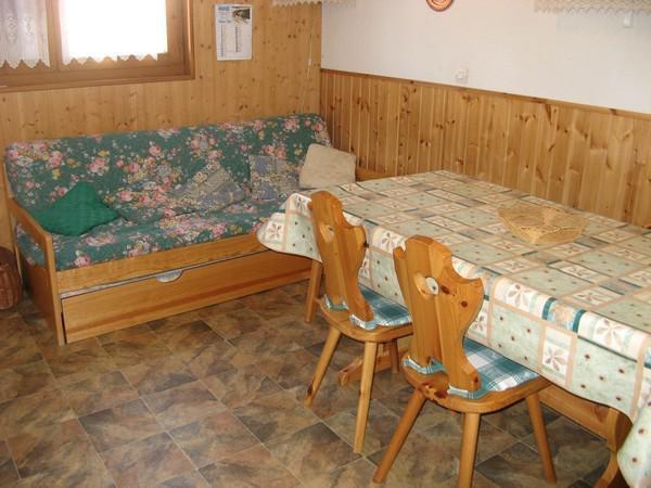 Каникулы в горах Апартаменты 2 комнат 4 чел. (114) - Résidence La Corniche - Aussois - Салон