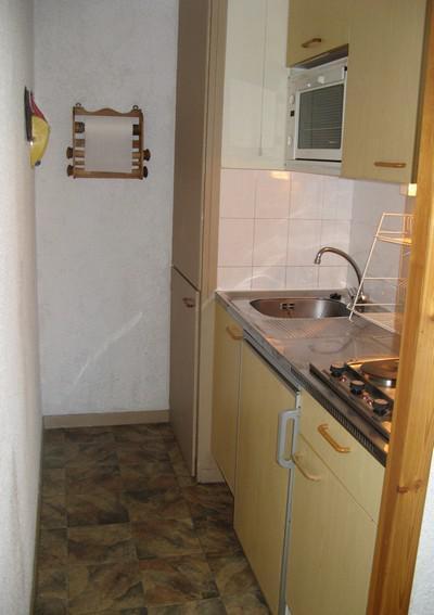 Wakacje w górach Apartament 2 pokojowy 4 osób (1) - Résidence La Corniche - Aussois - Aneks kuchenny