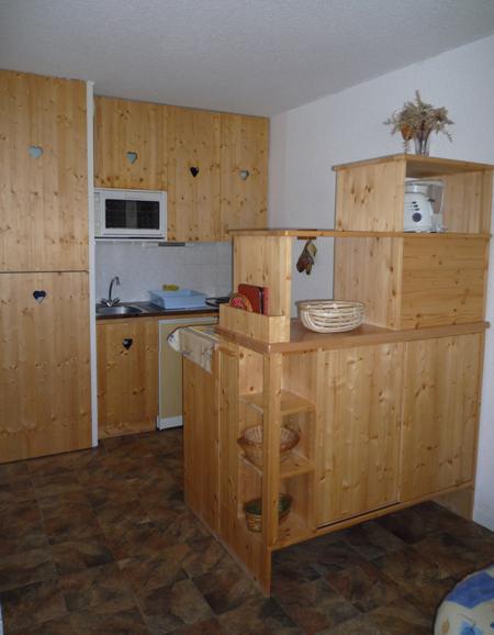 Wakacje w górach Apartament 2 pokojowy 4 osób (102) - Résidence La Corniche - Aussois - Aneks kuchenny