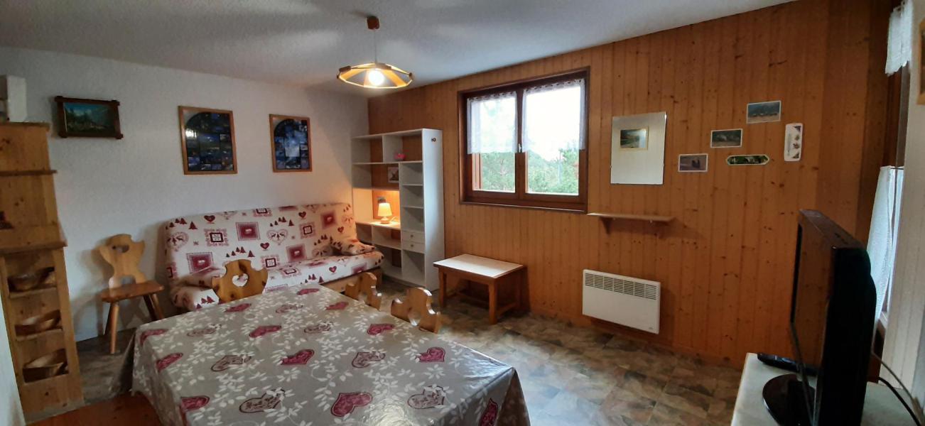 Wakacje w górach Apartament 2 pokojowy 4 osób (102) - Résidence La Corniche - Aussois - Pokój gościnny