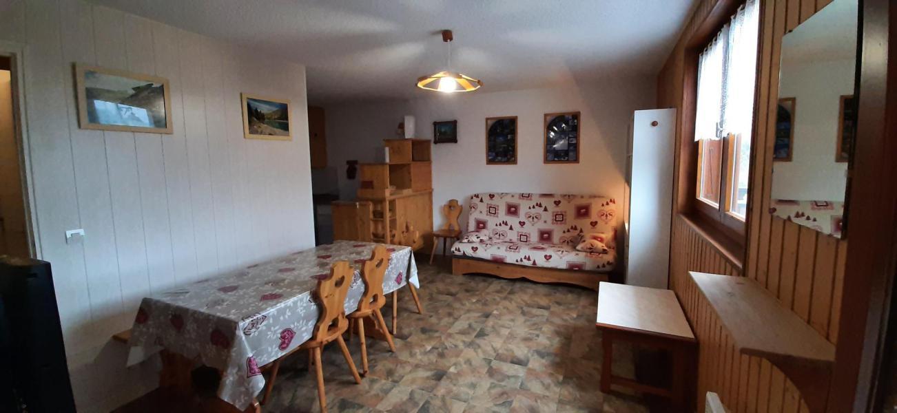 Wakacje w górach Apartament 2 pokojowy 4 osób (102) - Résidence La Corniche - Aussois - Stołem