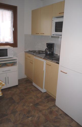 Wakacje w górach Apartament 2 pokojowy 5 osób (105) - Résidence La Corniche - Aussois - Aneks kuchenny