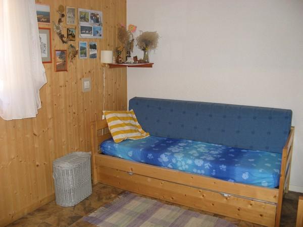 Wakacje w górach Apartament 2 pokojowy z alkową 4 osoby (113) - Résidence La Corniche - Aussois - Pokój gościnny