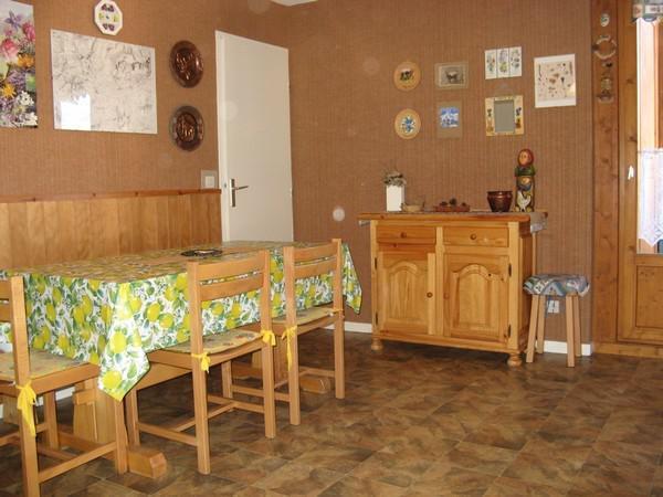 Wakacje w górach Apartament 2 pokojowy z alkową 4 osoby (113) - Résidence La Corniche - Aussois - Stołem