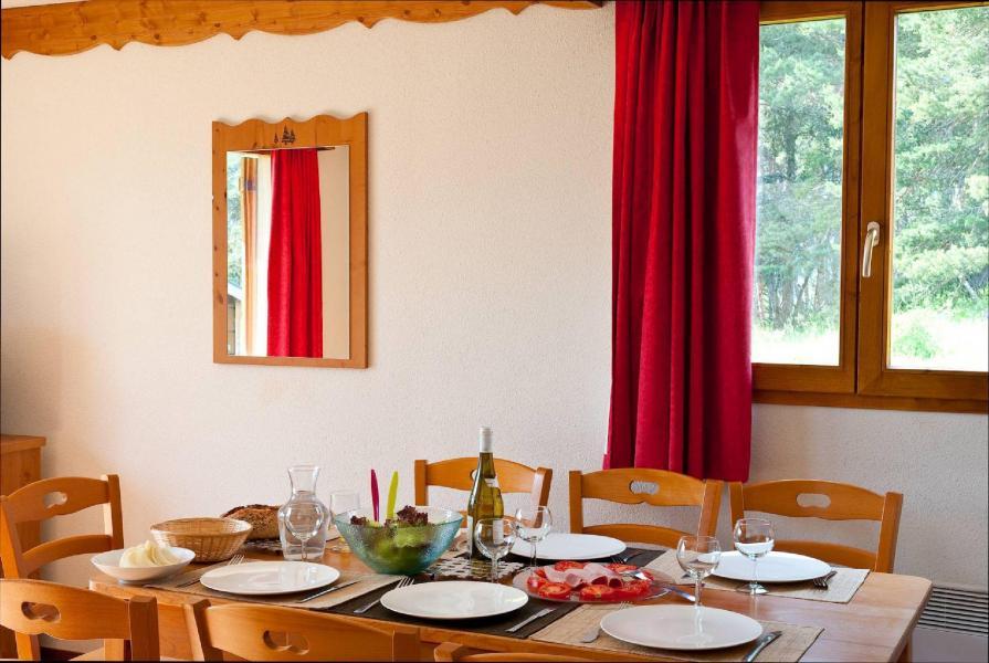 Vacances en montagne Résidence la Crête du Berger - La Joue du Loup - Coin séjour