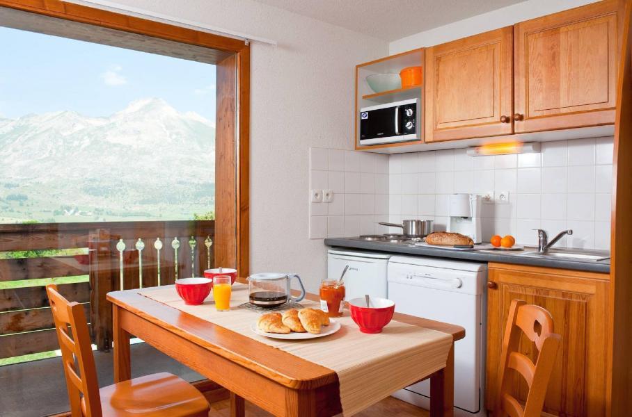 Vacances en montagne Résidence la Crête du Berger - La Joue du Loup - Cuisine