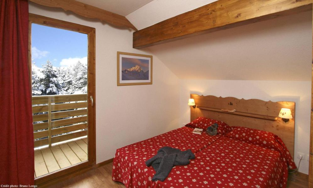 Vacances en montagne Résidence la Crête du Berger - La Joue du Loup - Lit double