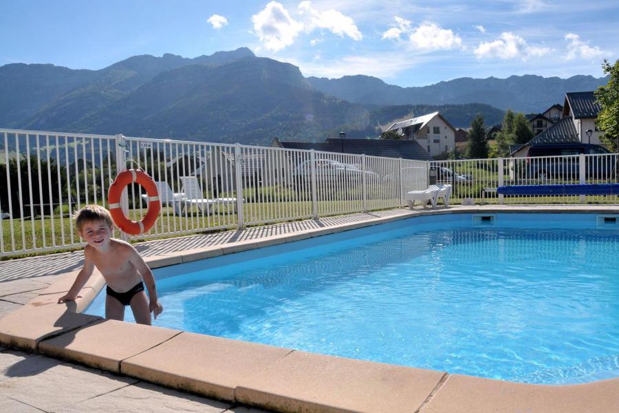 Vacances en montagne Résidence la Croix Margot - Villard de Lans - Piscine