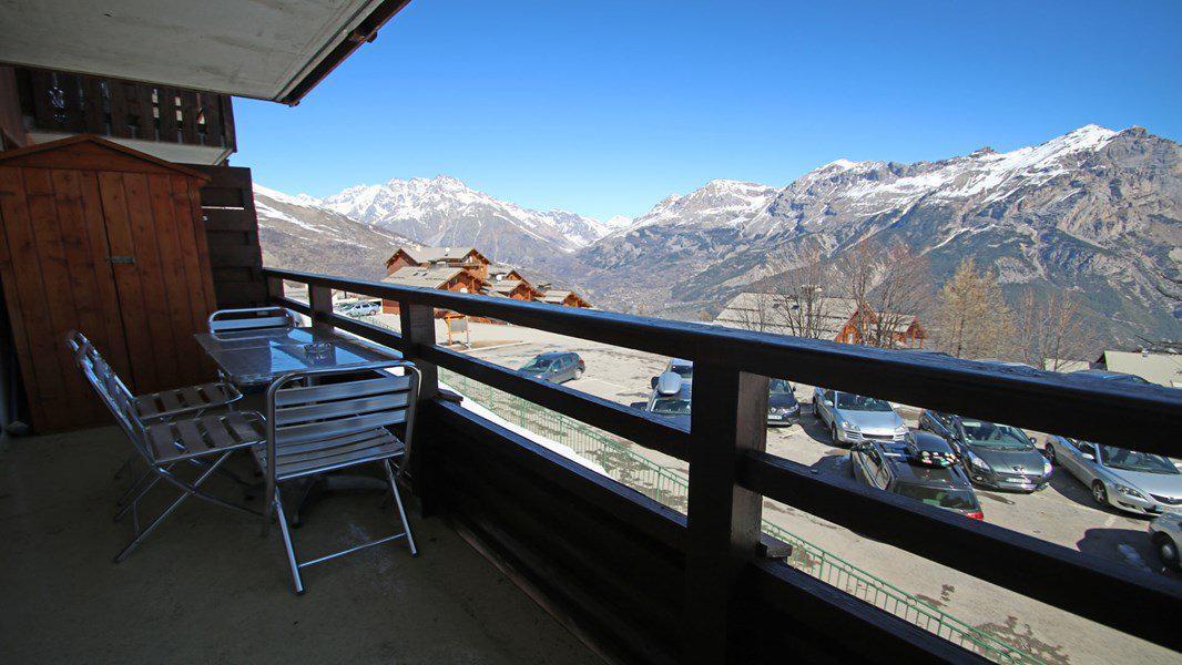 Location au ski Appartement 3 pièces 6 personnes (122) - Résidence La Dame Blanche - Puy-Saint-Vincent - Extérieur été