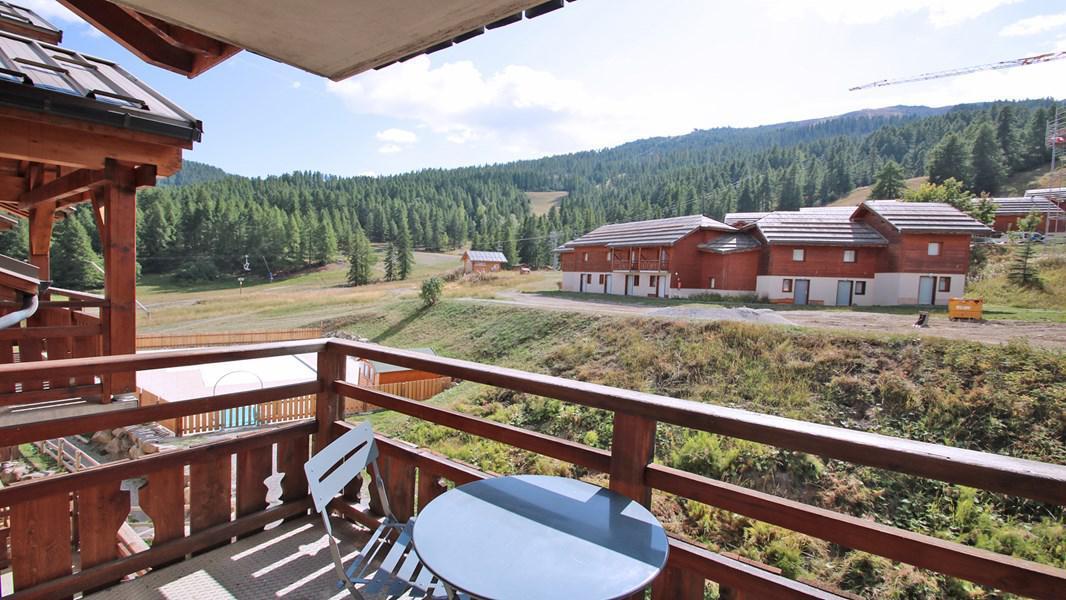 Wakacje w górach Apartament 2 pokojowy kabina 6 osób (311) - Résidence La Dame Blanche - Puy-Saint-Vincent - Na zewnątrz latem