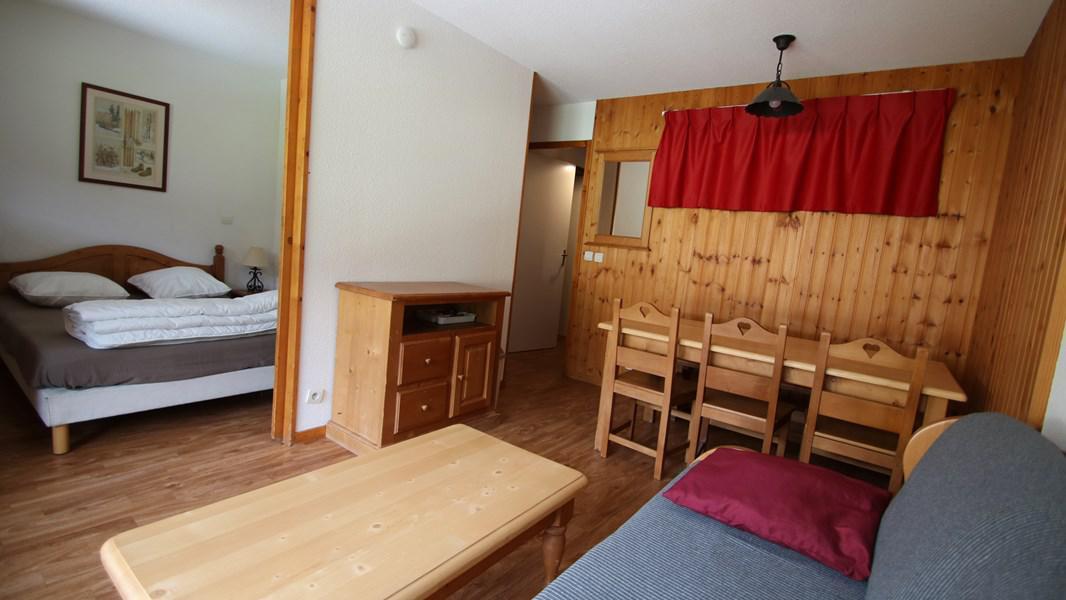 Wakacje w górach Apartament 2 pokojowy kabina 6 osób (303) - Résidence La Dame Blanche - Puy-Saint-Vincent - Stołem