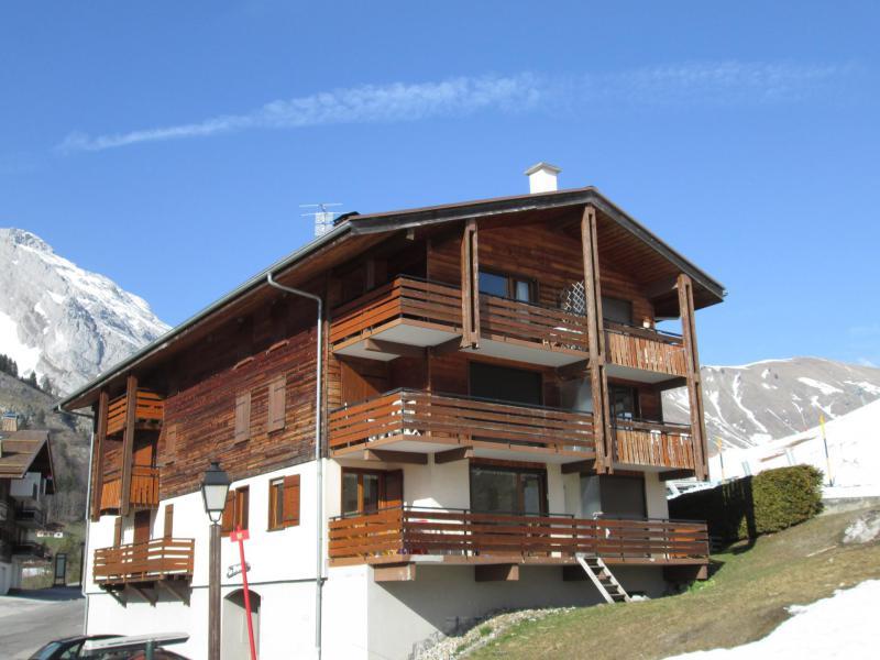 Holiday in mountain resort Studio sleeping corner 4 people - Résidence la Dryade - Le Grand Bornand