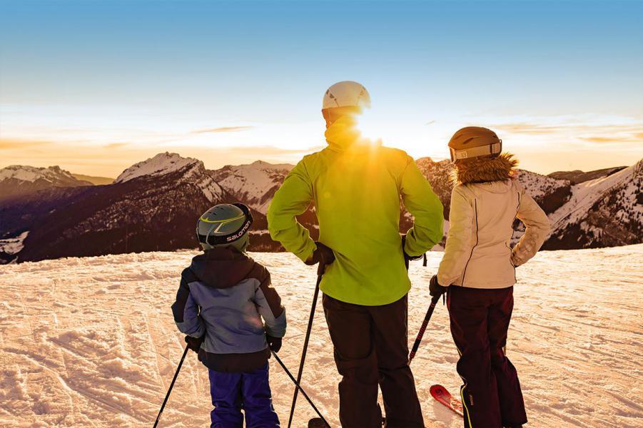 Vacances en montagne Studio coin montagne 4 personnes - Résidence la Dryade - Le Grand Bornand