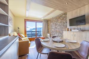 Vacances en montagne Résidence la Duit - Valmorel - Table