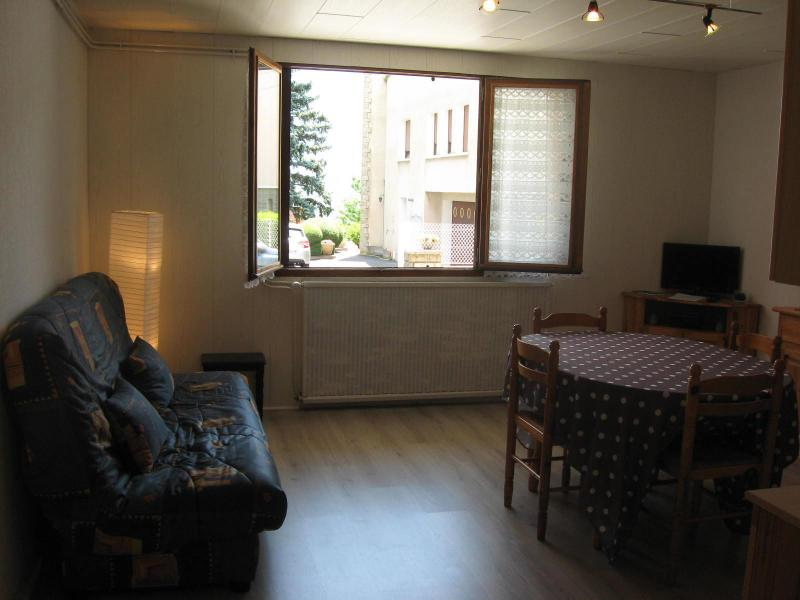 Holiday in mountain resort 2 room apartment 4 people (DUR/2B) - Résidence la Durance - Les Orres - Living room