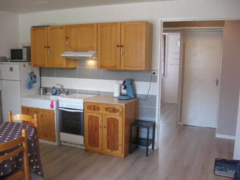 Vacaciones en montaña Apartamento 2 piezas para 4 personas (DUR/2B) - Résidence la Durance - Les Orres - Cocina