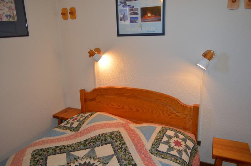 Urlaub in den Bergen 3 Zimmer Maisonettewohnung für 6 Personen (B40) - Résidence la Ferme d'Augustin - Montgenèvre - Doppelbett