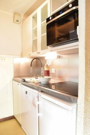 Urlaub in den Bergen 3 Zimmer Maisonettewohnung für 6 Personen (B40) - Résidence la Ferme d'Augustin - Montgenèvre - Küche