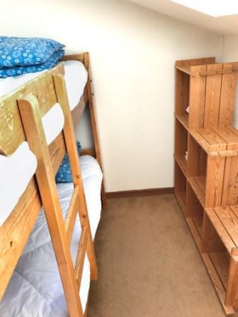 Urlaub in den Bergen 3 Zimmer Maisonettewohnung für 6 Personen (B40) - Résidence la Ferme d'Augustin - Montgenèvre - Stockbetten