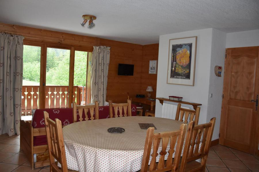 Wakacje w górach Apartament 3 pokojowy 6 osób (12) - Résidence la Ferme de Pralognan - Pralognan-la-Vanoise - Stołem