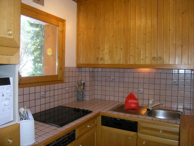 Vacances en montagne Appartement 2 pièces 4 personnes (30) - Résidence la Forêt - Méribel - Lavabo