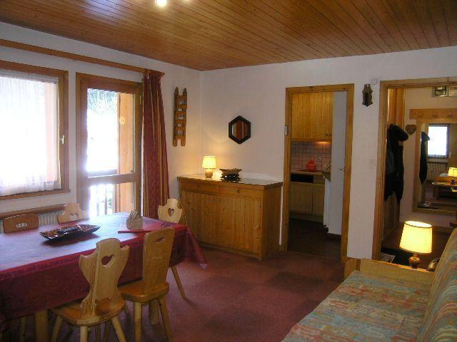 Vacances en montagne Appartement 2 pièces 4 personnes (30) - Résidence la Forêt - Méribel - Séjour
