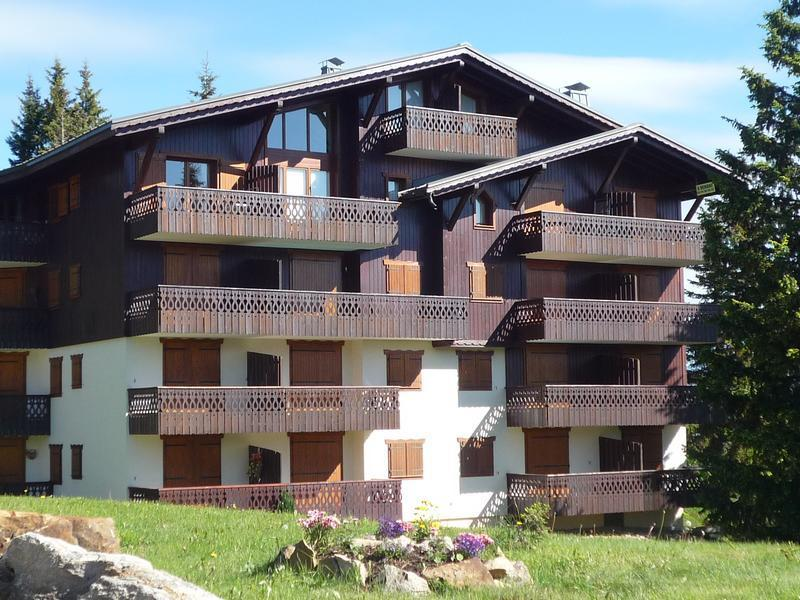 Vacaciones en montaña Résidence la Forêt des Rennes 1 - Les Saisies - Verano