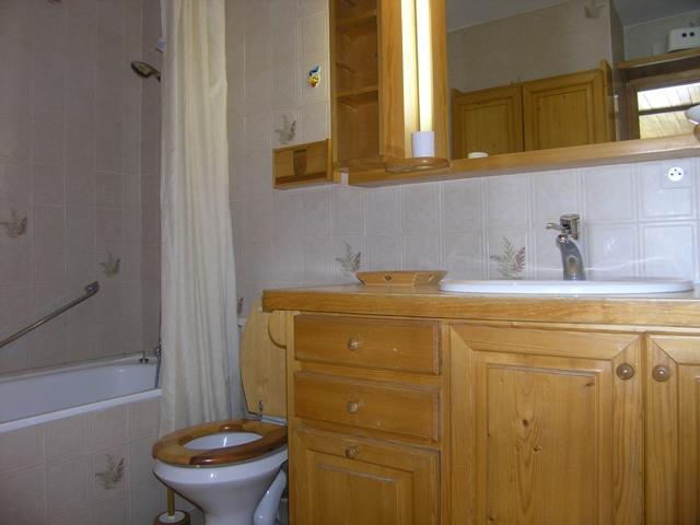 Vacances en montagne Studio 4 personnes (19) - Résidence la Forêt - Méribel - Salle de bains