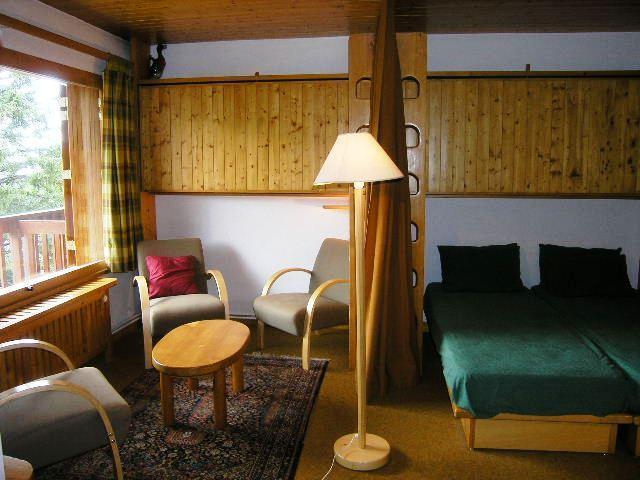 Vacances en montagne Studio 4 personnes (19) - Résidence la Forêt - Méribel - Séjour