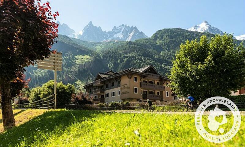 Vacances en montagne Résidence la Ginabelle - Maeva Home - Chamonix - Extérieur été