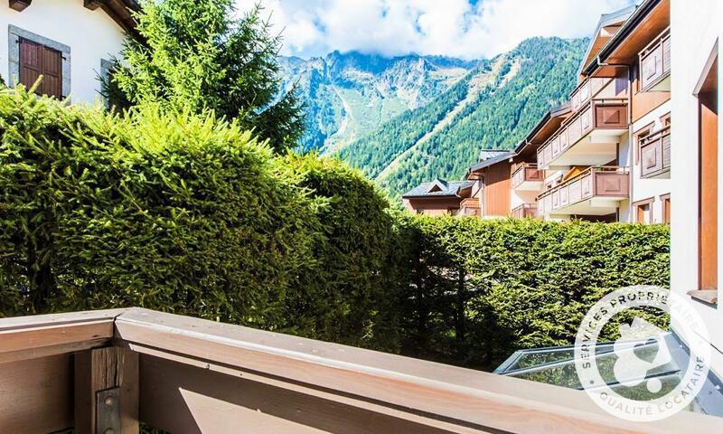 Vacances en montagne Appartement 2 pièces 4 personnes (Prestige 30m²) - Résidence la Ginabelle - Maeva Home - Chamonix - Extérieur été