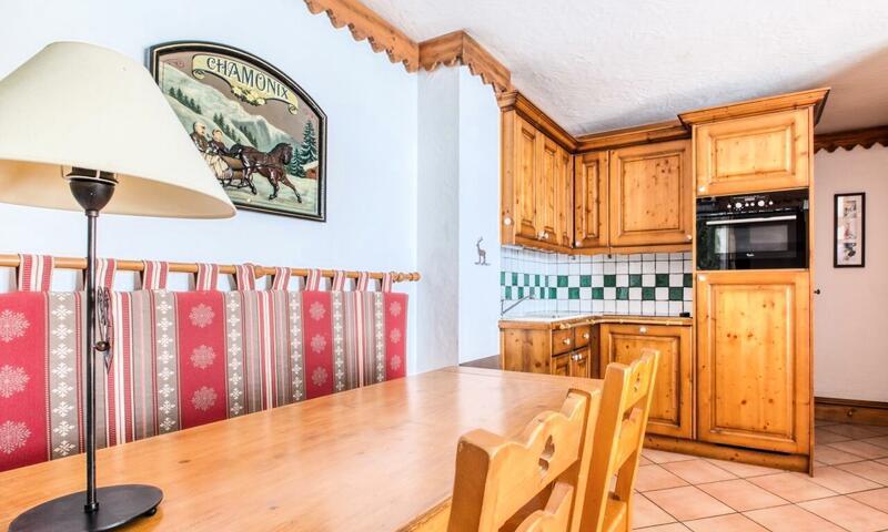 Vacances en montagne Appartement 3 pièces 6 personnes (Prestige 40m²) - Résidence la Ginabelle - Maeva Home - Chamonix - Extérieur été