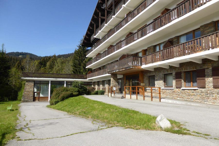 Аренда на лыжном курорте Résidence la Grande Cordée - Combloux - летом под открытым небом
