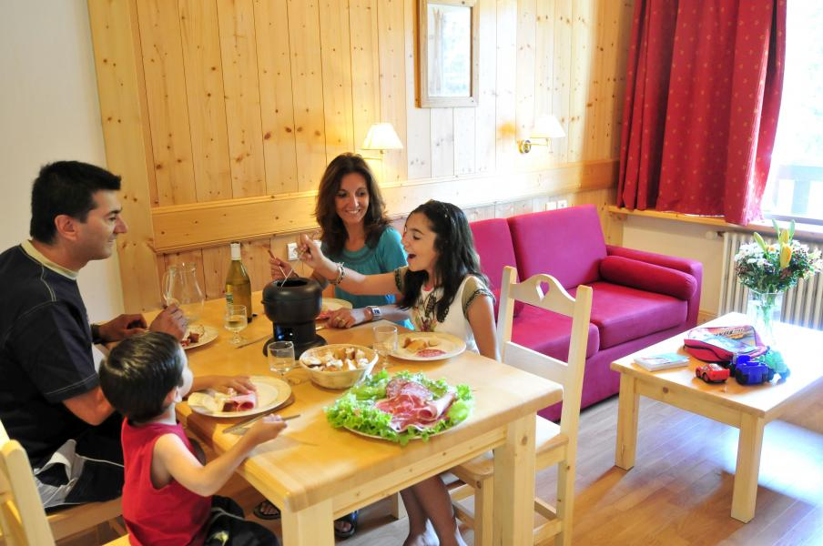 Vacances en montagne Résidence la Grande Cordée - Combloux - Coin repas