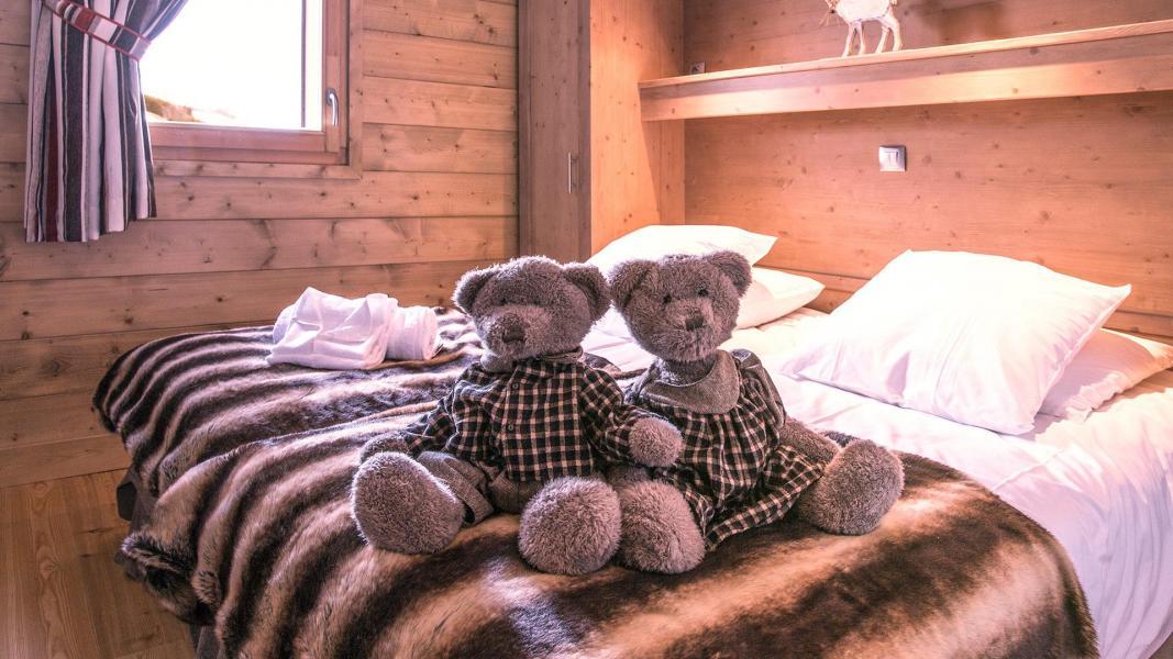 Urlaub in den Bergen Résidence la Grange Aux Fées - Valmorel - Schlafzimmer