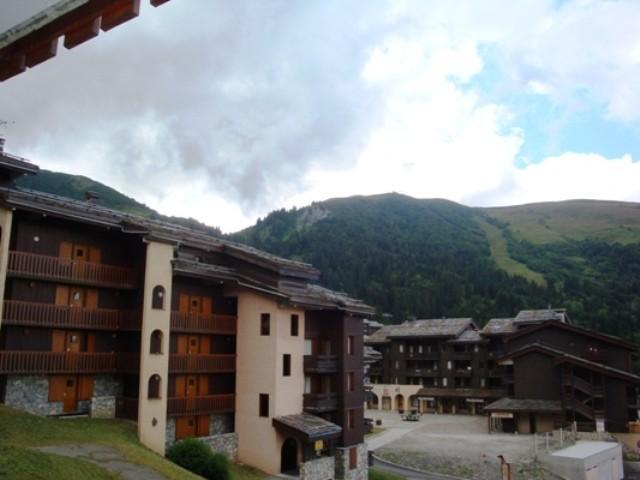Location au ski Studio 4 personnes (020) - Résidence la Lauzière Dessous - Valmorel - Extérieur été