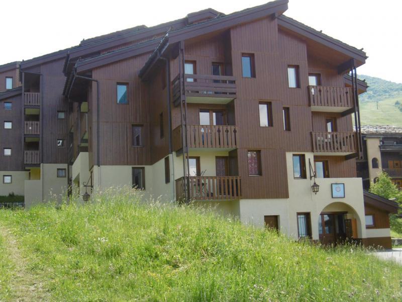 Vacaciones en montaña Résidence la Lauzière Dessous - Valmorel - Verano