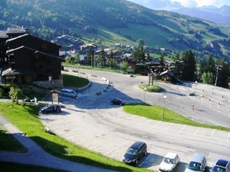 Location au ski Appartement 3 pièces 7 personnes (038) - Résidence la Lauzière Dessous - Valmorel - Extérieur été