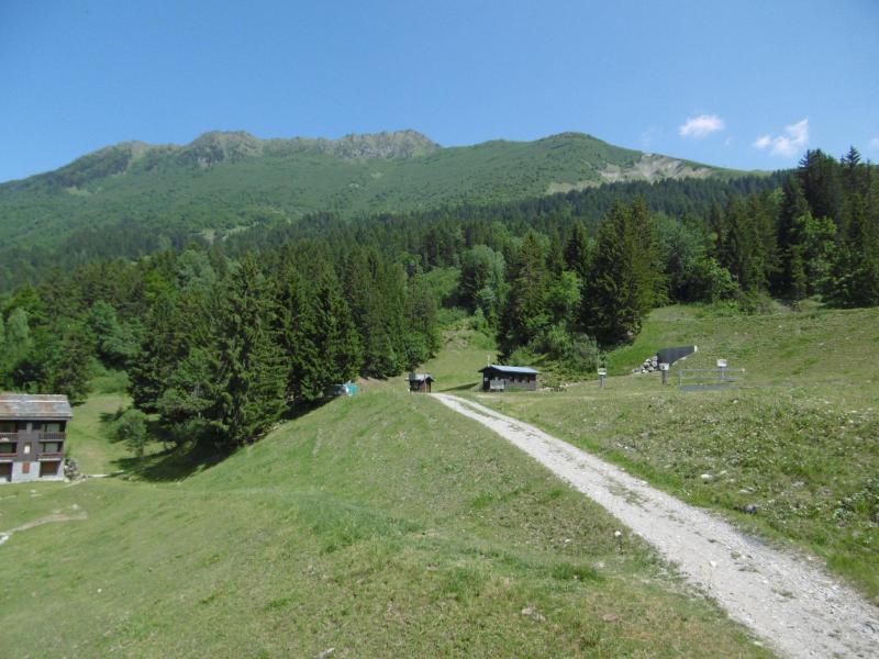 Location au ski Résidence la Lauzière Dessous - Valmorel - Extérieur été