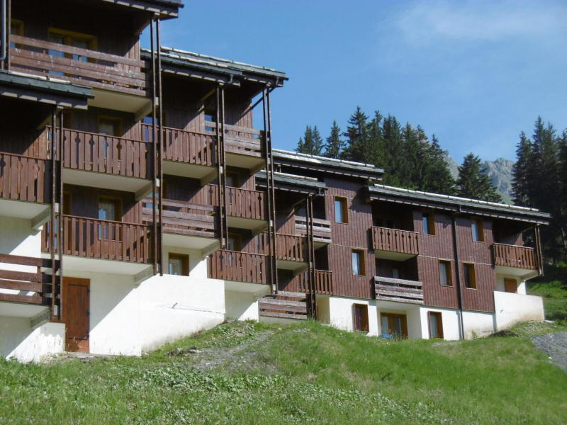 Ski verhuur Résidence la Lauzière Dessus - Valmorel - Buiten zomer