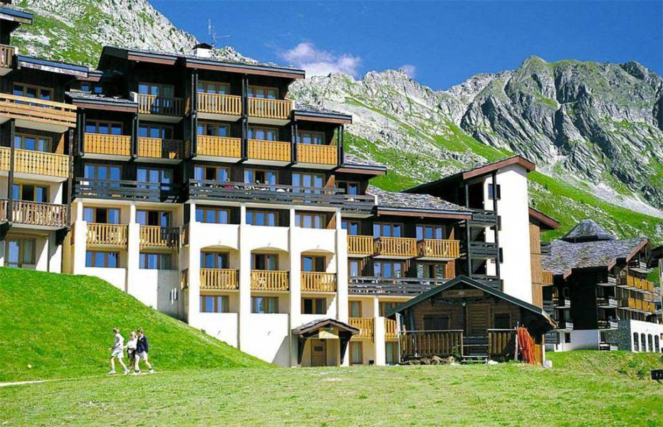 Location au ski Résidence la Licorne - La Plagne - Extérieur été
