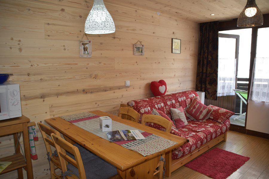 Urlaub in den Bergen Studio Schlafnische 4 Personen (55) - Résidence la Loubatière - Montgenèvre