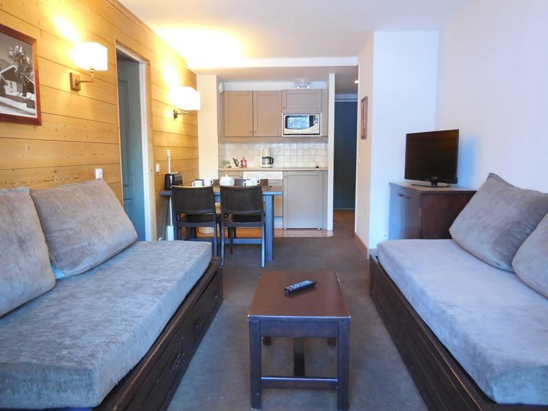 Vakantie in de bergen Appartement 2 kamers 4 personen (419) - Résidence la Marelle - Montchavin La Plagne