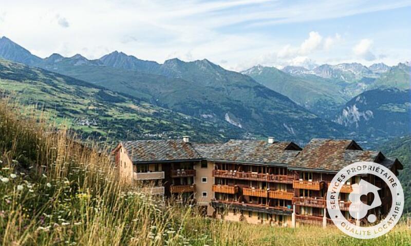 Vacances en montagne Résidence la Marelle et Le Rami - Maeva Home - Montchavin La Plagne - Extérieur été