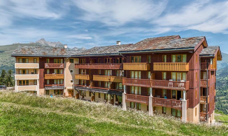 Vacances en montagne Appartement 2 pièces 7 personnes (Sélection 41m²) - Résidence la Marelle et Le Rami - Maeva Home - Montchavin La Plagne - Extérieur été
