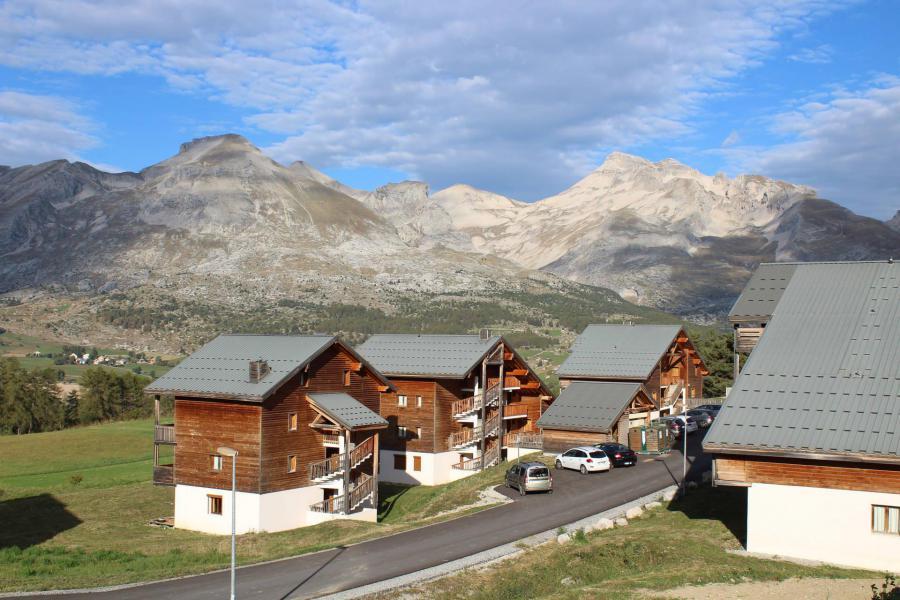 Vacaciones en montaña Résidence la Marmotte la Crête du Berger - La Joue du Loup - Verano