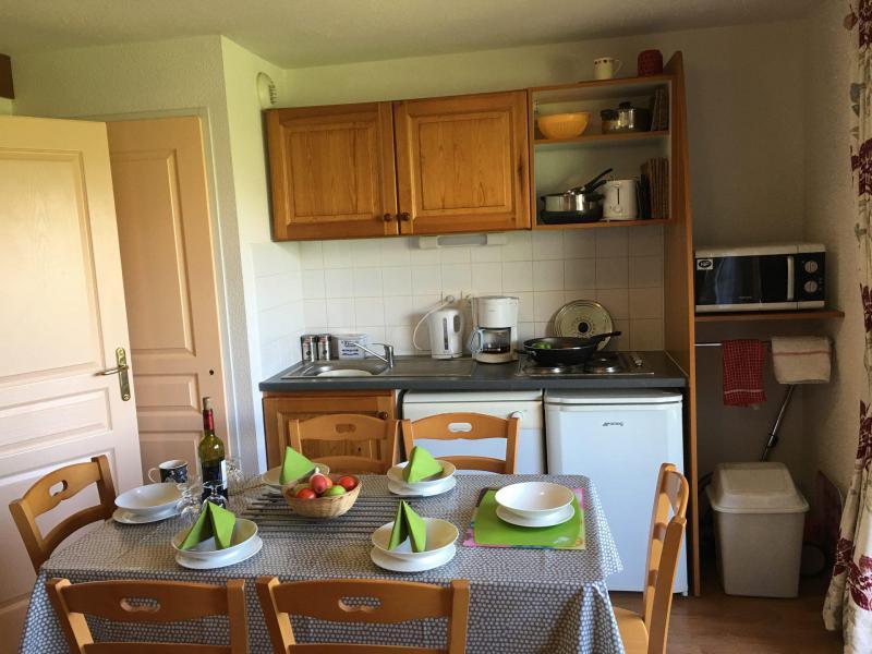 Vacaciones en montaña Apartamento cabina 2 piezas para 6 personas (821) - Résidence la Marmotte la Crête du Berger - La Joue du Loup - Kitchenette