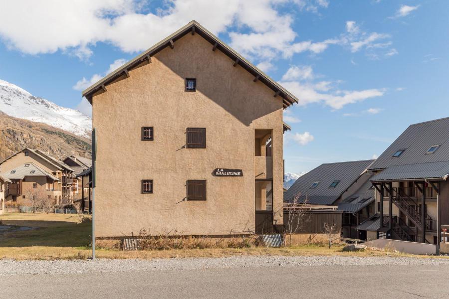 Wakacje w górach Apartament 3 pokojowy z antresolą 6 osób (MARC4) - Résidence la Maurine - Serre Chevalier - Na zewnątrz latem
