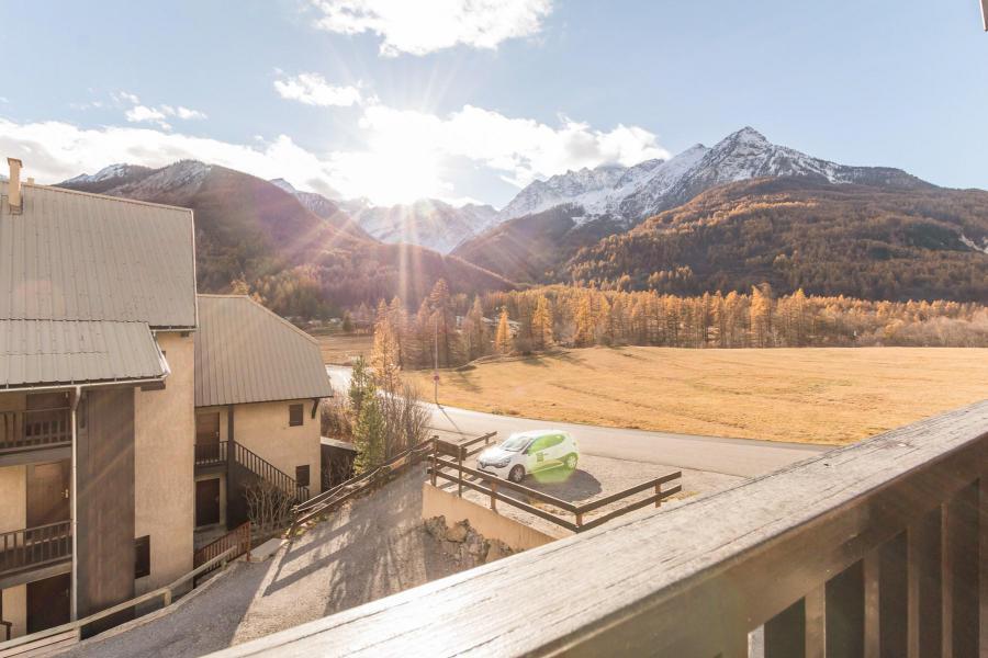 Wakacje w górach Apartament 3 pokojowy z antresolą 6 osób (MARC4) - Résidence la Maurine - Serre Chevalier - Balkon